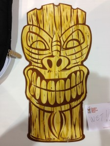 Panel Jammers™ Large Tiki done by Jimmy C