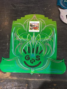 Finished up Panel Jammers™ Art Deco Panel with Gavin R Stevens Logo.